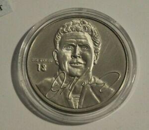 1999 Avon The Highland Mint Dan Marino Brushed Nickel Coin
