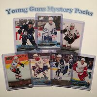 YOUNG GUNS MYSTERY PACKS | 6 Young Guns | Rookies | min $45 (BV) | Read Descrip!