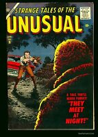 Strange Tales of the Unusual #9 VF+ 8.5 White Circle 8