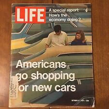 LIFE Magazine ~ October 8 1971~New Car Shopping~Team Handball-Olympics ~70's Ads