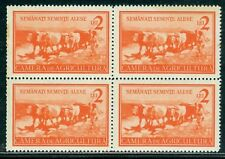 1930 Agriculture,Revenue/TAX stamp,Oxcart,Sow quality seeds !!,Romania,MNH