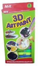 ds 3D Art Paint Kit 6 Colori Pittura Dream Colors Decorare Dipingere Maglie dfh