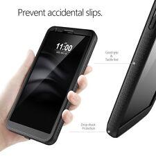 For LG G6 Case Black Poetic【Revolution】Built-In Screen Protector Heavy Duty Case