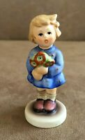 Hummel Girl with nosegay Figurine 239A Goebel flowers gift for you mom 239 a