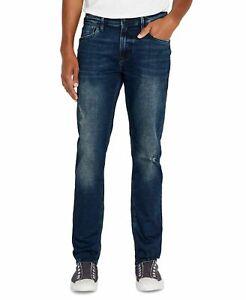 Buffalo Jeans Mens Jeans Blue Size 32X32 Ash-X Slim Fit Stretch $109 #259