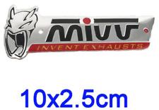 1 ADESIVO MIVV ALLUMINIO 200° alta temperatura SCARICO MOTO terminale marmitta