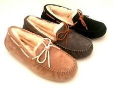 NEW WOMENS UGG DAKOTA MOCCASINS SLIPPERS SIZE 5, 6, 7, 8, 10, 11