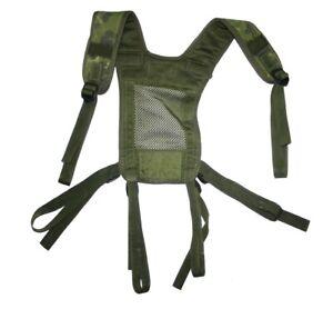 Dänische Armee Suspender PLCE Webbing Koppeltragegestell M96 Flecktarn Träger