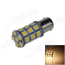 1X Warm White 1156 G18 Ba15s 27 5050 LED Turn Signal Rear Light Bulb Lamp D007