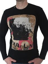 New Model  Black T-shirt Marylin Monroe d.g:Men'S  Size XL.IT50 NWT