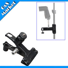 Photo Studio Light Stand Heavy Duty Clamp/clip with ballhead and Cold shoe seat