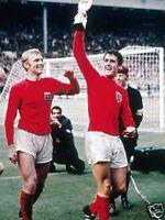 Bobby Moore Geoff Hurst England 1966 10x8 Photo
