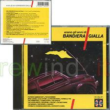 """AA.VV. """"ERANO GLI ANNI DI BANDIERA GIALLA"""" RARO CD 1988 - PFM DELIRIUM THE ROKES"""