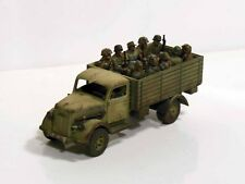 28mm Bolt Action Chain Of Command German Opal Blitz Open Top - Painted