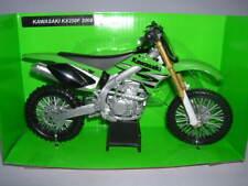 NEWRAY KAWASAKI KX250F KX 250 F modello 2008 Verde Verde Motorsports 1:12