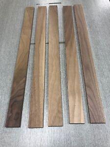 Walnut Timber Boards PAR (offcuts) 5 length 48x10x600mm minimum.