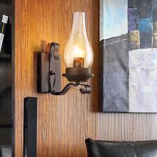 Vintage Wall Lamp Wall Light Vintage Antique Retro Cage Ship  Aluminium Fixture
