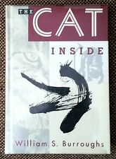 "SIGNED, DATED by William S. Burroughs ""The Cat Inside"" Brion Gysin w ORIGINAL DJ"