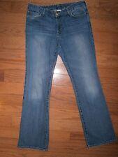 Womens Eddie Bauer Classic Boot Cut Jeans 10 Mid rise Stretch Blue