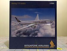 Herpa Wings 1:500 524858 Singapore Airlines Boeing 777-300ER