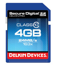 Delkin Devices 4GB SDHC Card  - DDSDPRO3-4GB