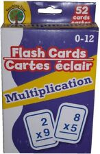 Teaching Tree Language Skills 52 Flash Cards in MULTIPLICATION for 0-12