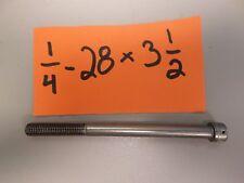 1/4-28 X 3 1/2 SOCKET HEAD CAP SCREWS