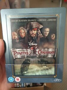 Pirates Of The Caribbean At World 'S End Steelbook