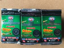 10 Packs AFL SELECT CHAMPIONS TRADING CARDS SEALED 2015