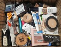 8 LBs Makeup Lot Box Foundation Eyeliner Lipstick More Various Count Shelf Pulls