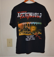 FINAL PRICE Travis Scott Astroworld Tour Merch 2019 T Shirt Men Black