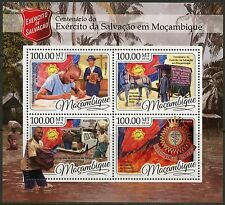 MOZAMBIQUE 2016 CENTENIAL OF THE SALVATION ARMY IN  MOZAMBIQUE SHEET MINT NH