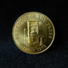 1976 Freedom Of The Press Commemorative Token! Family Weekly!