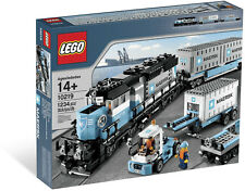 LEGO City 10219 Maersk Cargo Train - Brand New Sealed in Box *Retired*