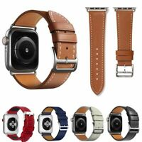Leather Replacement Band Strap for Apple Watch Series 1 / 2 / 3 / 4 / 5