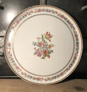 "Assiette Porcelaine Raynaud  /"" KOUTANI /""   18 cm TBE"