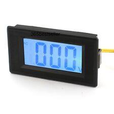 AC 80-500 V Panel Mount Bleu écran LCD Tension Tester Compteur voltmètre