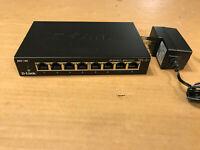 D-link DGS-108 8‑Port Gigabit Unmanaged Desktop Switch