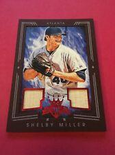 Shelby Miller Braves 2015 Donruss Kings DK Materials Red Frame #123 30/99