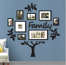 13-Piece Family Tree Set hallway photo wall collage frame picture frames decor