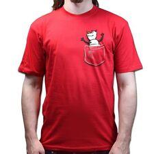 Snowman Olaf Hugging in Pocket frozen T-shirt P636