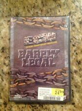 ECW/WWE- Barely Legal (DVD,2001)NEW Ultra Rare Out of Print Authentic US Release