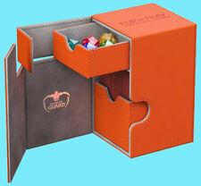 ULTIMATE GUARD FLIP n TRAY ORANGE 100+ XENOSKIN DECK CASE Card Box MTG CCG Game