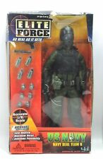 "Elite Force US NAVY SEAL TEAM 8 Soldier African American 12"" Action Figure 2002"