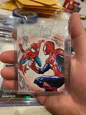 2017 Fleer Ultra Spider-Man Sketch Card of Spider-Man Soriano Amazing Spiderman