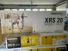 New listing Weider XRS 20 Olympic Weight Squat Rack Gold's Gym IN HAND Ships Same Day