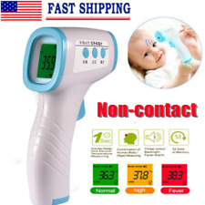 Forehead Thermometer Gun Digital Termometro Non-Contact Laser Infrared Ir 3Color