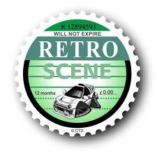 Nouveauté rétro VIGNETTE motif & KOOLART FORD RS200 Rally logo autocollant