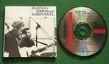 The Definitive Simon & Garfunkel inc Homeward Bound / Mrs Robinson + CD