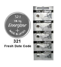 100X Energizer 321 Battery Silver Oxide Watch Button Low Drain 1.55V SR616SW New